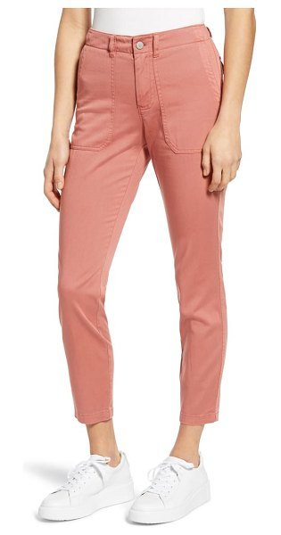 Caslon caslon crop utility pants in pink