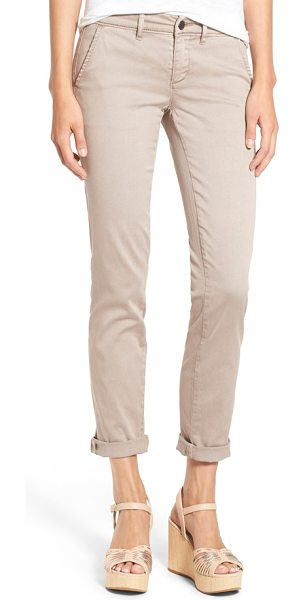 CASLON Caslon boyfriend chinos - A slim-leg boyfriend cut updates essential chinos in a...
