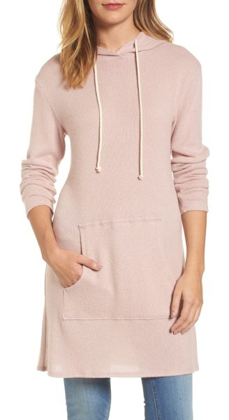 CASLON caslon hooded tunic - A long length of coziness for the Saturday sidelines or...