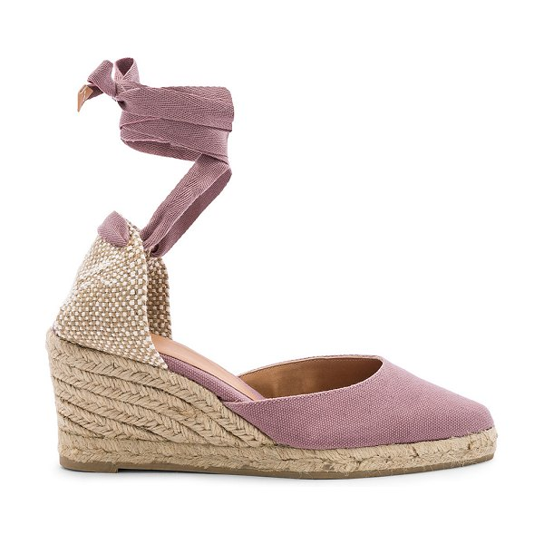 Castaner Joyce Wedge in mauve