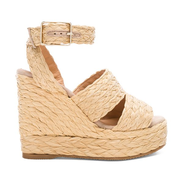 Castaner Raffia Jade Espadrilles in neutrals - Braided raffia upper with rubber sole.  Made in Spain. ...
