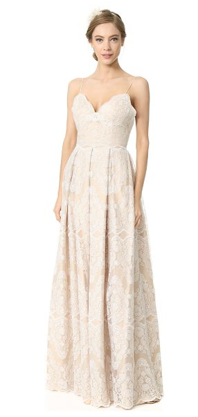 CATHERINE DEANE helena gown - Intricate embroidery accentuates the elegant, graceful...