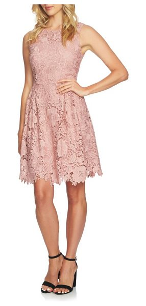 CeCe by Cynthia Steffe claiborne lace a-line dress in rose pearl - An all-occasion dress as romantic as they come features...