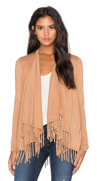 CENTRAL PARK WEST Patagonia fringe cardigan - 77% rayon 23% nylon. Dry clean only. Open front. Fringe...