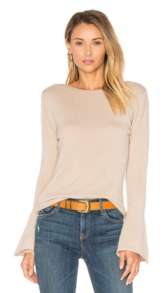 Central Park West Vienna Cashmere Bell Sleeve Sweater in beige - 100% cashmere. Dry clean only. CENT-WK373. C10557. Based...