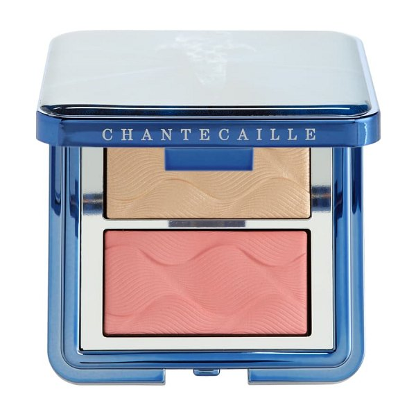 Chantecaille radiance chic cheek highlighter duo in rose