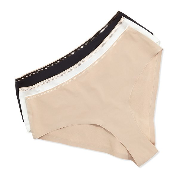 Chantelle Invisible Hipster Briefs in nude