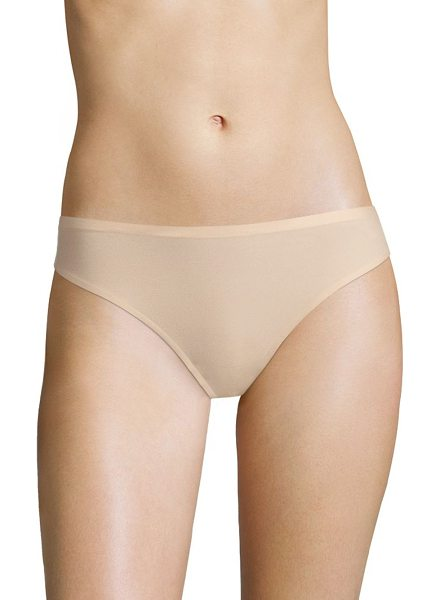 Chantelle soft stretch seamless regular rise thong in nude