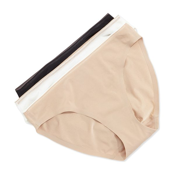 Chantelle Invisible bikini briefs in nude - Chantelle invisible soft stretch knit bikini briefs,...