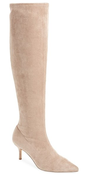 Charles by Charles David aerin over the knee boot in brown - A streamlined, socklike silhouette traces your leg in...