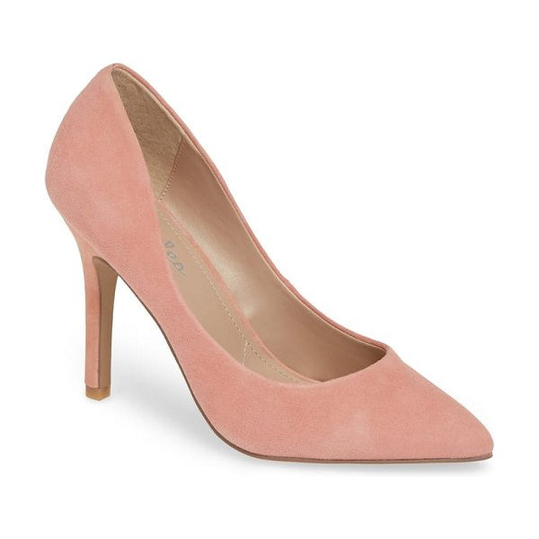 Charles by Charles David maxx pointy toe pump in pink