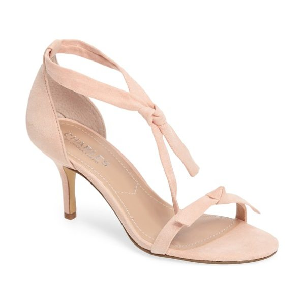 CHARLES BY CHARLES DAVID nova sandal - Casually knotted straps add to the cool, casual look of...