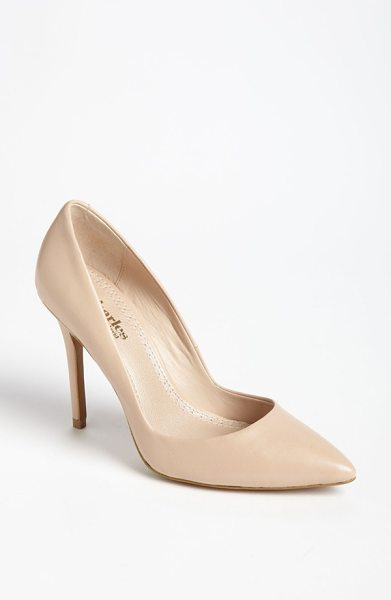 Charles by Charles David pact pump in nude - A low-cut topline maximizes the leg-lengthening chic of...