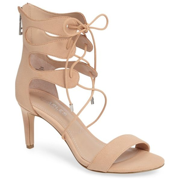 CHARLES BY CHARLES DAVID zone lace-up sandal - Embracing this season's trend toward inventive...