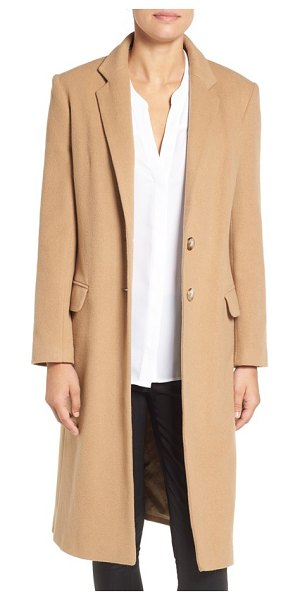 Charles Gray London charles gray london college coat in beige - Layer up in this timeless two-button reefer tailored...