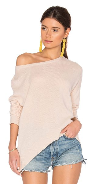 CHARLI Calne Cashmere Sweater in cream - 100% cashmere. Dry clean only. Knit fabric. CHAR-WK34....