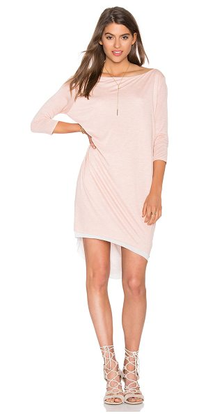 CHARLI Terris dress in pink - 100% modal. Hand wash cold. Unlined. CHAR-WD48. JEDR685....