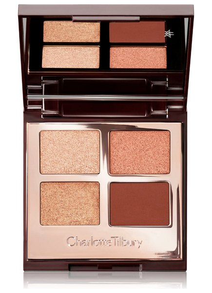 Charlotte Tilbury luxury eyeshadow palette in copper charge