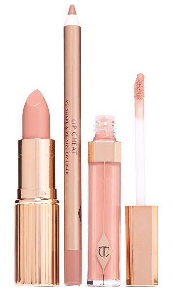 Charlotte Tilbury The perfect nude kiss set in no color - Achieve the perfect nude kiss with an expertly curated...