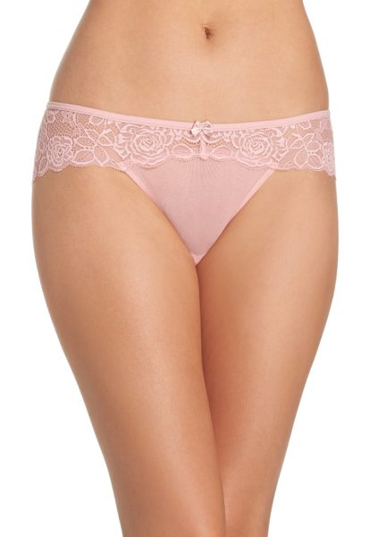 Chelsea28 lacy days hipster briefs in pink bride