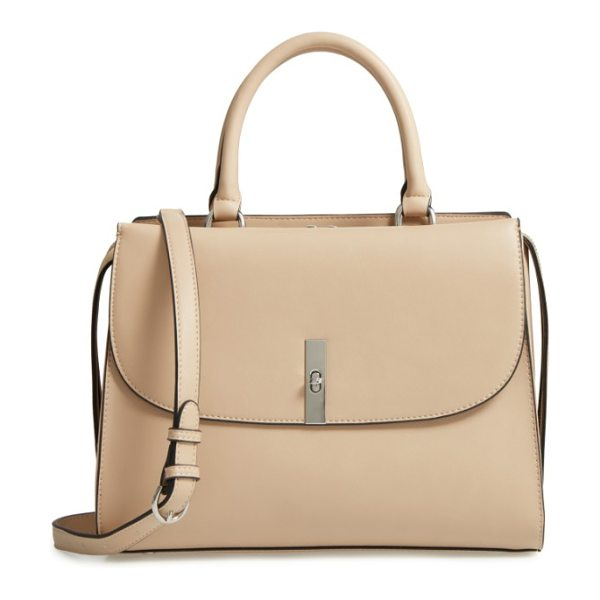 CHELSEA28 morgan convertible faux leather satchel - Minimalist composition maximizes the smart, contemporary...