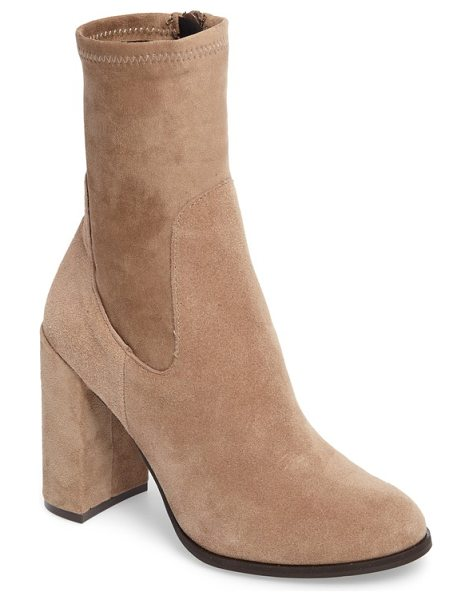Chinese Laundry charisma bootie in mink - A stretchy ankle-length shaft gives this round-toe...