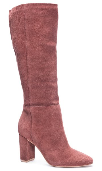Chinese Laundry krafty knee high boot in brown