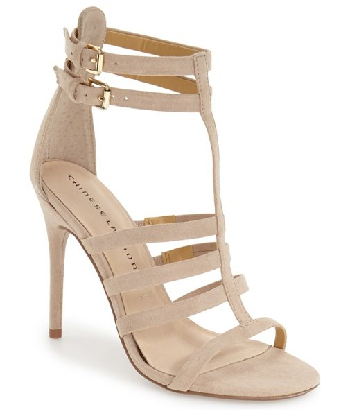 Chinese Laundry 'lacy' gladiator sandal in summer sand - This gladiator-inspired sandal features a slender,...