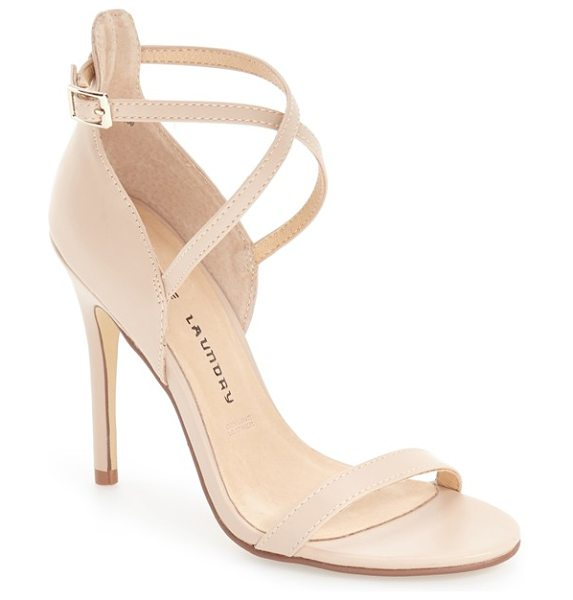 CHINESE LAUNDRY 'lavelle' ankle strap sandal - Crossover ankle straps extend the modern sophistication...