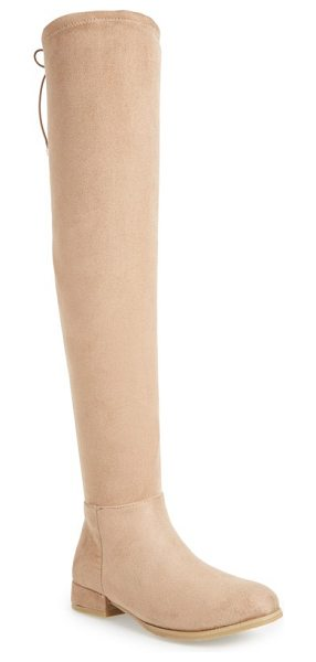 CHINESE LAUNDRY rashelle over the knee stretch boot - A stretchy over-the-knee shaft follows the contours of...