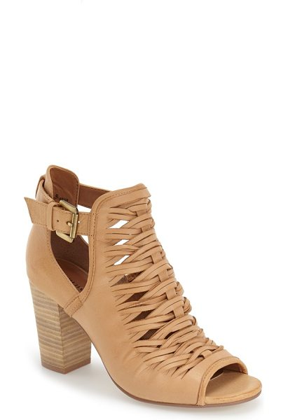 CHINESE LAUNDRY 'tatiana' open toe bootie - A modern take on a classic style, this peep-toe bootie...