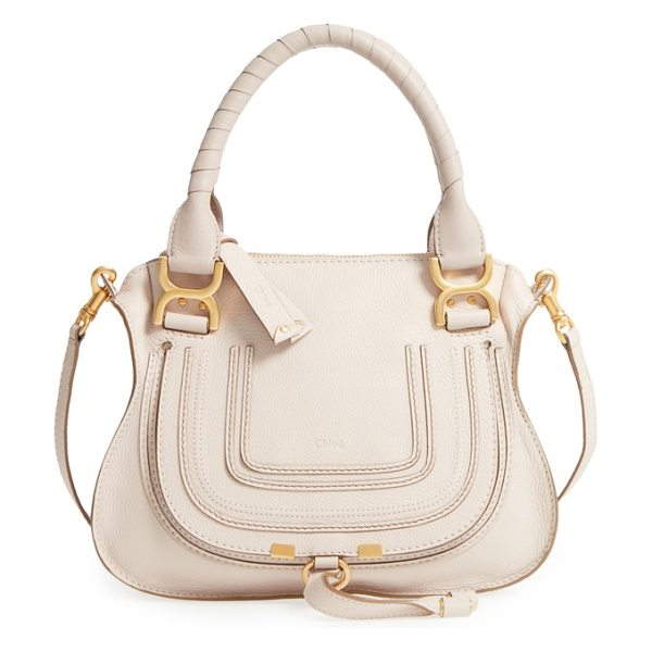 Chloe marcie small double carry bag in nut