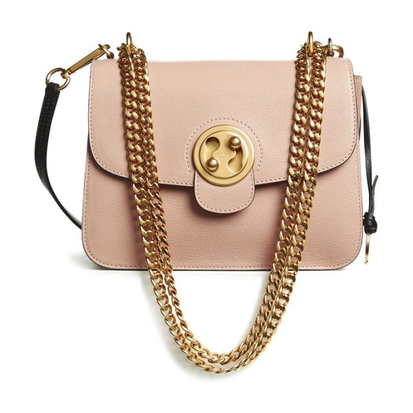 Chloe medium mily leather shoulder bag in biscotti beige - Introducing Chloe's latest must-have carryall Mily, an...