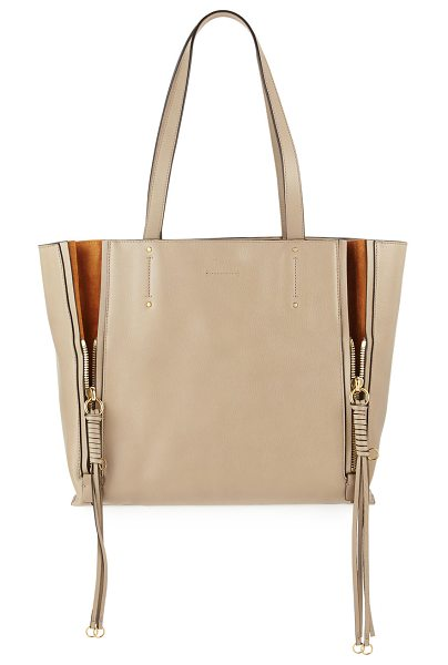 CHLOE Milo Medium Leather & Suede Tote Bag - Chloe leather and suede tote bag. Available in multiple...