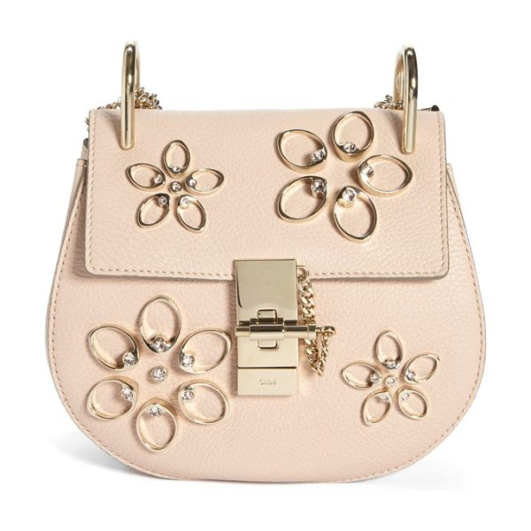 Chloe Mini drew in cement pink - Featuring the fresh, buoyant attitude that characterized...