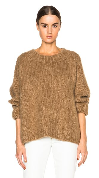 CHLOE Oversized knit - 75% mohair 20% wool 5% cashmere.  Made in China.  Knit...