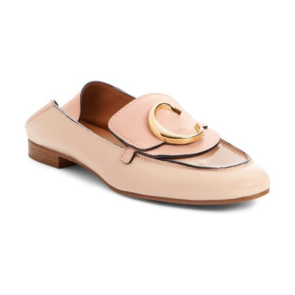 Chloe story convertible loafer in pink