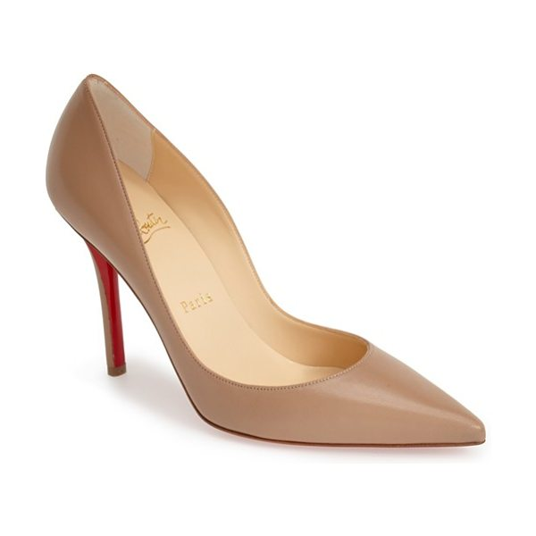 CHRISTIAN LOUBOUTIN apostrophy pointy toe pump - Timeless in its design, the Christian Louboutin...