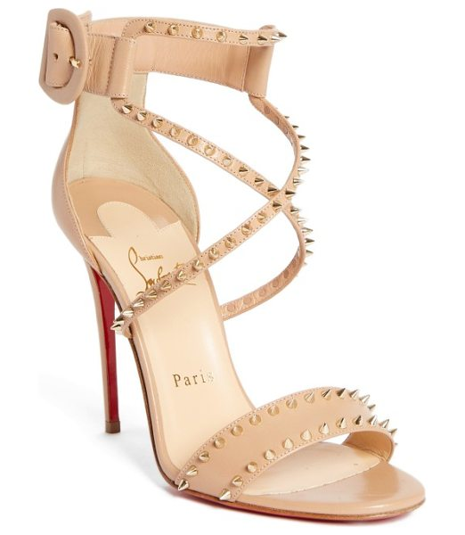 huge discount b5115 6cc18 Christian Louboutin Choca Criss Spike Sandal