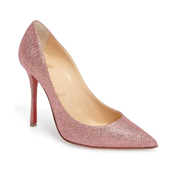 CHRISTIAN LOUBOUTIN decoltish pump -
