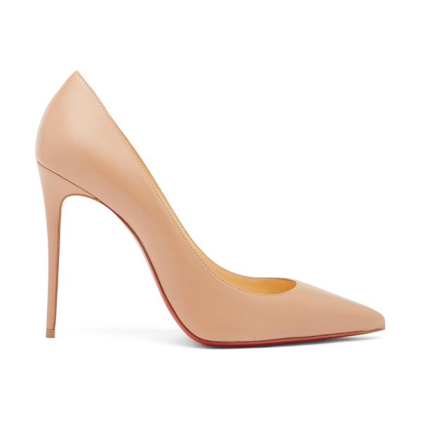 Christian Louboutin kate 100 leather pumps in nude