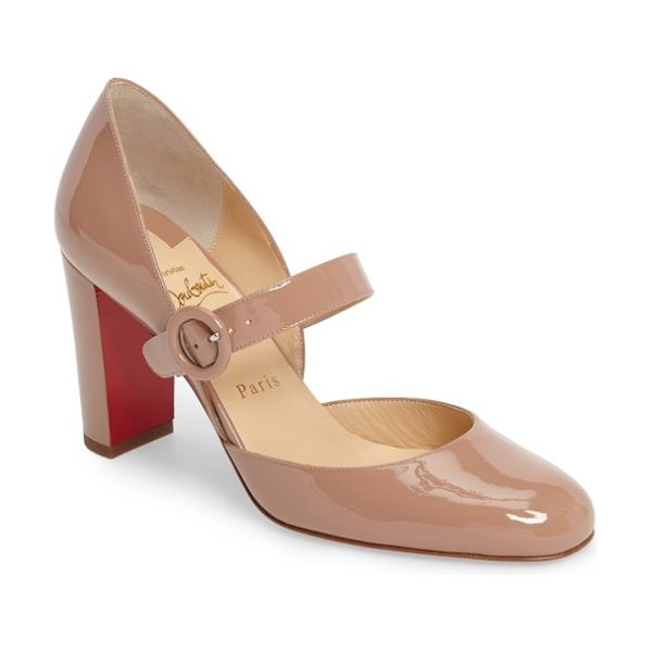 CHRISTIAN LOUBOUTIN miss kawa mary jane pump - A mary-jane strap adds a playful, retro-inspired touch...