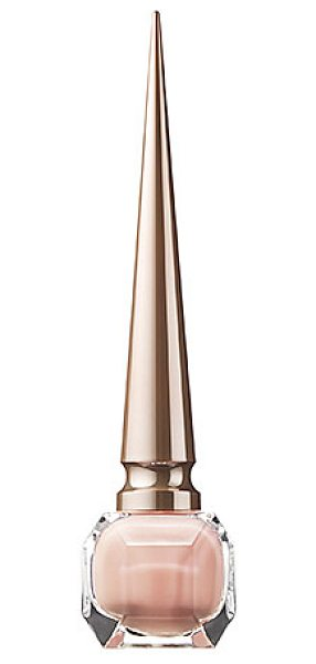 Christian Louboutin nail colour - the nudes madame est nue - A long-wearing, provocative nail lacquer that imparts...