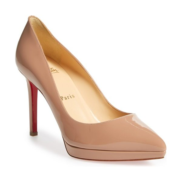 louboutin pigalle plato beige
