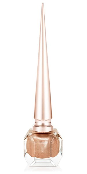 Christian Louboutin rouge louboutin nail colour in goldissima