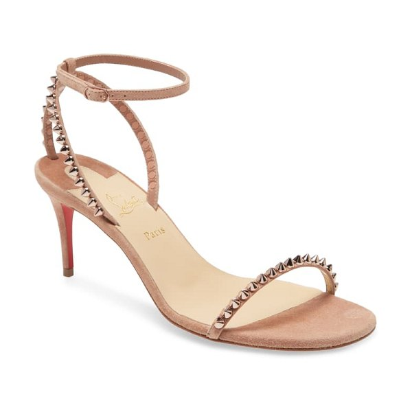 Christian Louboutin so me studded sandal in beige