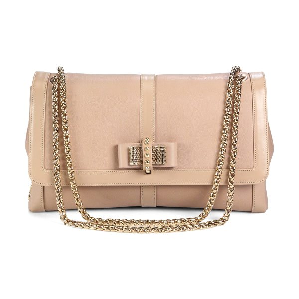 CHRISTIAN LOUBOUTIN Sweety charity large shoulder bag - This classic, timeless silhouette is crafted from smooth...