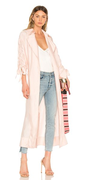 Cinq A Sept Aziza Jacket in pink - Self: 100% cuproLining: 95% poly 5% spandex. Dry clean...