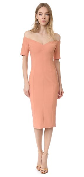 Cinq A Sept birch dress in bloom - This tailored Cinq a Sept dress is styled with a wide V...