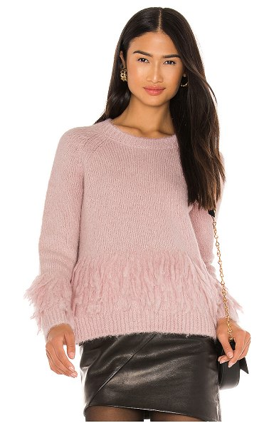 Cinq A Sept izabella sweater in cinq pink